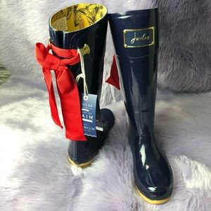 NWT Joules T Evedon Rain boots